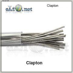Clapton SS316 Rod Wire (28ga+24ga) из нержавеющей стали.