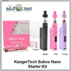 +ПОДАРОК!! Kangertech Subox Nano Starter Kit - боксмод вариватт + атомайзер, набор