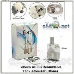 Tobeco KS RTA - 7 ml обслуживаемый атомайзер. Клон.