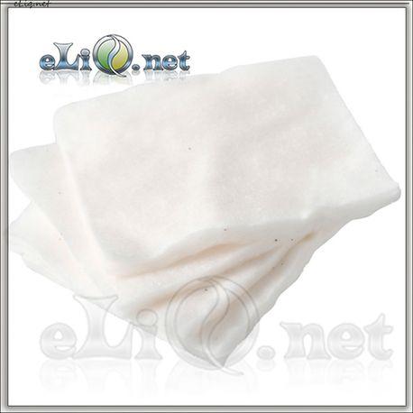 Muji - Japan 100% Organic Cotton - 5х6 см - коттон, вата.