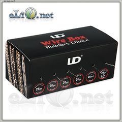 UD Wire Box - коробочка с 6ю катушками проволок разного типа от Youde.