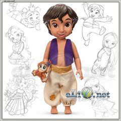 Кукла малыш Аладдин (Disney)