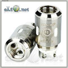 SMOK TFV4 TF-T4 Clapton Quadruple Coil - четырехспиральныи клэптон испаритель. Оригинал.