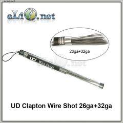 UD Clapton Kanthal Rod Wire (26ga+32ga) - клэптон кантал.