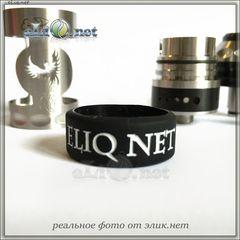 """22мм """"Vape with eLiq.net"""" Vape Band - широкое декоративное силиконовое колечко, препятствующее скольжению эл. сигареты."""