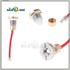 510 Коннектор для батарейных модов. Диаметр - 15мм.
