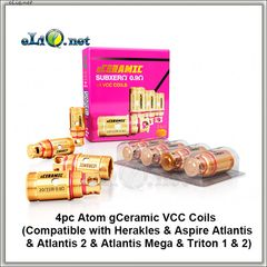 ATOM. Керамический испаритель для Herakles, Atlantis, Atlantis 2 и Mega, Triton. gCeramic Coils
