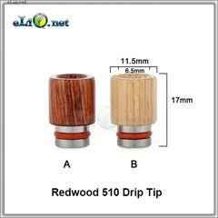 [510] Короткий широкий деревянный дрип-тип.