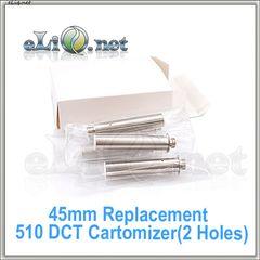 New!  (2 holes) DCT 510 сменный дуалкоил картомайзер