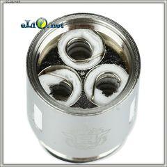 SMOK TFV8 V8-T6 Sextuple Coil - Шестиспиральный испаритель.