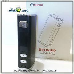 80W EHPRO EVOK Mini Box Mod, TC + Ceramic - мини-боксмод вариватт с температурным контролем.