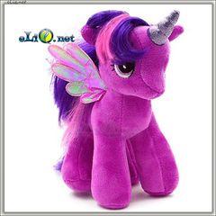 Мягкая игрушка пони Сумеречная Искорка с крыльями из мультфильма Май Литл Пони (My little pony)
