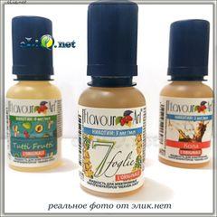 20 мл. 7 leaves. Жидкость для заправки электронных сигарет от FlavourArt (Италия) 7 листьев. Табак.