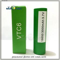 [30A] 3000mah Sony VTC 6 IMR18650 - flat top - Высокотоковый аккумулятор