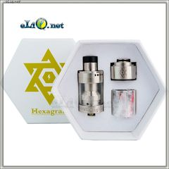 ThunderHead Creations Hexagram RDTA Atomizer-2.5ml - обслуживаемый атомайзер танк + дрипка.