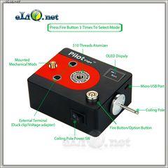 PilotVape Coil Magician Tab - электрический инструмент для намотки спирали + тестер.