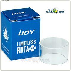 IJOY Limitless RDTA Plus Glass Tube. Стеклянная колба для Лимитлесс РДТА Плюс.