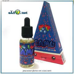 30 ml Blueberry Rasp Bubblegum (GAMU) - Премиальные жидкости из США.