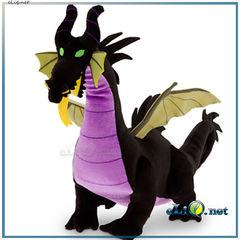 Большой плюшевый Дракон колдунья Малефисента. Спящая красавица. Дисней Disney