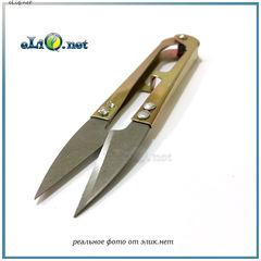 Плоские ножницы из нержавеющей стали. Инструмент. Scissors