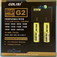 GOLISI G2 Intelligent Digicharger - интеллектуальное цифровое зарядное устройство.