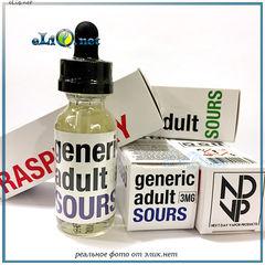 30 ml Raspberry - Generic Adult Sours - Премиальные жидкости из США.