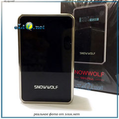 SIGELEI Snowwolf Mini Plus TC 80W 3000mAh Box Mod. Бокс мод вариватт с температурным контролем.