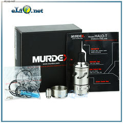 Murdex Halo T Coil Control RDTA Atomizer  - обслуживаемый атомайзер-танк для дрипа.