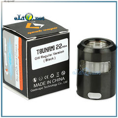 GeekVape Tsunami 22 Glass Window Top Cap Regular - Топ-кэп для Тсунами 22.