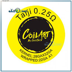 CoilART Taiji 28ga * 32ga + 22ga A1 крутые койлы от компании Койларт