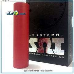 "Красный Shorty Subzero Competition Mod от Sub Ohm Innovations (SOI) - оригинал. Мехмод ""Коротышка"". Red"