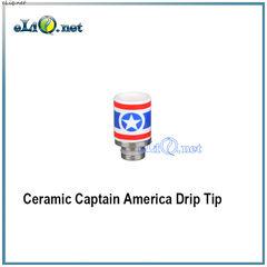 """Керамический дрип-тип """"Капитан Америка""""."""