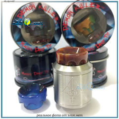 528-В Demon Killer Magic Resin Drip Tip дрип-тип, мундштук подходящий для многих современных атомайзеров. Корона