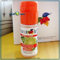 10 мл Lime Tahity, Персидский лайм. FlavourArt - ароматизатор для самозамеса. FA Италия.