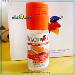 10 мл Vienna Cream. FlavourArt - ароматизатор для самозамеса. FA Италия венский крем