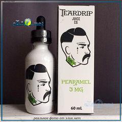 60мл TearDrip Pearamel заправка для вэйпа карамелизированая груша. Премиум США