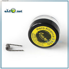 0.55 Ом. CoilART Hero Alliance 28ga + 32ga A1 26ga + 0,1 * 0,9 FLAT крутые койлы от Коиларт. Герой Альянса