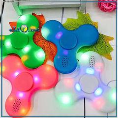 Светящийся Спиннер - колонка спикер / LED Light Bluetooth Speaker Spinner Игрушка антистресс