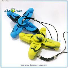 Силиконовый спиннер с магнитом и четырьмя лепестками. Vapesoon Silicone Hand Spinner Fidget Toy with Four Spins