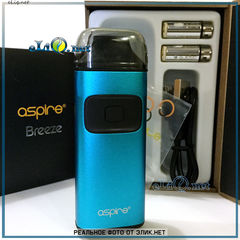 Aspire Breeze starter kit 650mAh 2ml, стартовый набор