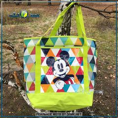Mickey Mouse Swim Tote - большая сумка-шоппер зеленая. Дисней оригинал из США