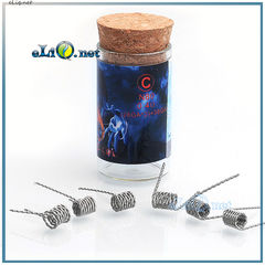 Тип C Demon Killer N80 Flame Coil 28ga*2+38ga. Твистед фьюзед клептон из нихрома