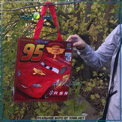 Молния МакКвин Reusable Tote - сумка Тачки. Дисней оригинал из США. (Cars, Disney)