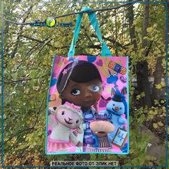 Доктор Плюшева Reusable Tote - сумка Doc McStuffins Дисней оригинал США