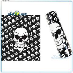 Skull - skeleton Термоусадка для аккумуляторов 18650 (термоусадочная трубка, пленка, оплетка) Череп