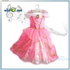 Бальное платье Спящей Красавицы Авроры на возраст 5-7 лет. Princess Aurora Sleeping Beauty Musical Dress Disney Orignal
