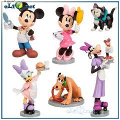 Минни Маус набор фигурок. Minnie Mouse Figurine Play Set Disney. Дисней оригинал США