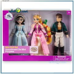 2017 Набор мини-кукол принцесса Рапунцель, Кассандра и Юджин. Tangled: The Series Mini Doll Set Disney, Дисней оригинал из США