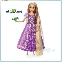 NEW 2017! Кукла принцесса Рапунцель с хамелеоном. Rapunzel Doll Disney, Дисней оригинал из США
