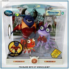 Набор фигурок Джонни и Рэнди Университет Монстров. Johnny & Randy Action Figure Play Toy Set Monsters University. Disney